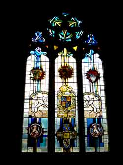 The Chapel's East Window. Photo © Simon Watts.