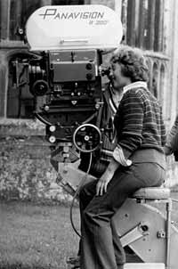 Filming The Slipper and the Rose in 1975